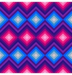 modern crystal zig zag and rhombus seamless vector image