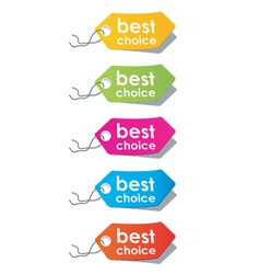 Price tags vector vector