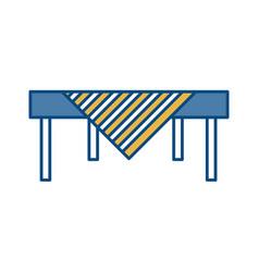 Table icon image vector