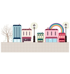 Townscape vector image