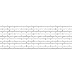Seamless of white brick vector image vector image