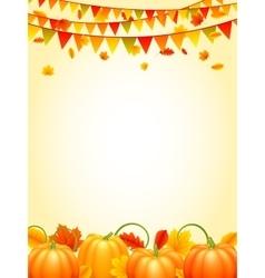 Autumn Season Background vector image vector image