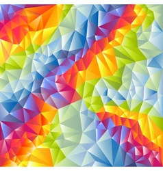 Abstract multicolored triangles background vector image
