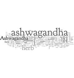 Ashwagandha vector