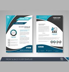 business brochure vector image