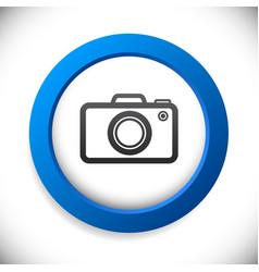 camera icon background vector image
