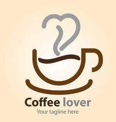 Coffee lover vector