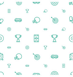 Competition icons pattern seamless white vector