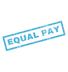 Equal Pay Rubber Stamp vector