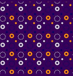 Flashy circle pa seamless pattern vector