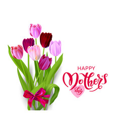 isolated holiday mothers day vector image