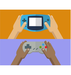 playing game images vector image