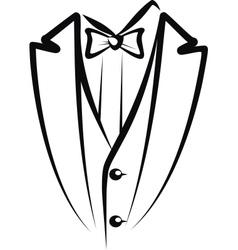 Tuxedo vector