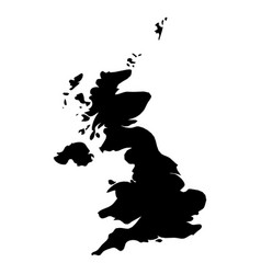 united kingdom of great britain and northern vector image
