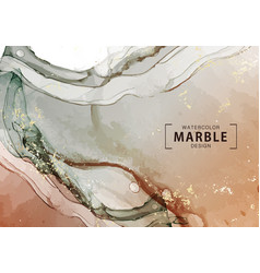 watercolor marble design motion liquid flow vector image