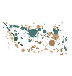 Watercolor paint stains grunge background vector