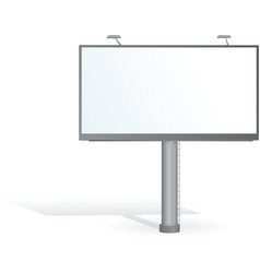advertising billboard vector image