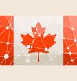canada flag concept vector image