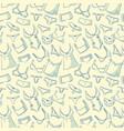 Female underwear doodle pattern