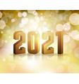 2021 new years eve concept vector image
