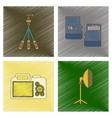 assembly flat shading style icon photo camera vector image vector image
