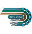 auto style vector image