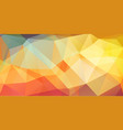 bright color cover background with triangle shapes vector image vector image