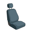 car seatcar single icon in cartoon style vector image