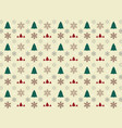 christmas icon wrapping pattern paper background vector image