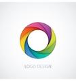 logo letter o vector image vector image