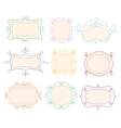 Outline Frames Emblems Mono Line Graphic