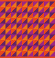 pattern seamless polygon triangle purple vector image