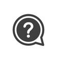 question mark icon images vector image