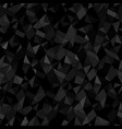 seamless geometric black background abstract vector image
