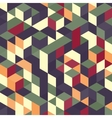 Abstract geometrical 3d colorful background vector image vector image