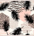abstract seamless pattern with animal print
