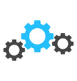 gear transmission icon vector image