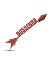 happy dussehra arrow celebration background with vector image