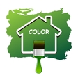 House color vector image