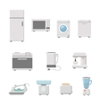 Household appliance vector image vector image