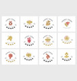 icon and logo honey editable outline vector image vector image