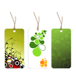 paper tags vector image vector image