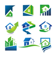 Property logo vector image vector image