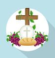 Religious design vector image vector image