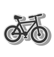 Bike transport vehicle icon vector image vector image