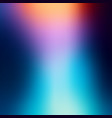 blurred abstract background soft colored gradient vector image vector image
