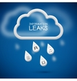 Information Leaks vector image