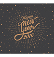 New 2016 Year vector image vector image