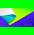 abstract neon material design background vector image