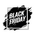 black friday sale abstract background banner vector image vector image